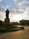 Monumento de Lenin Fotos de archivo libres de regalías
