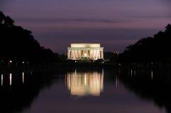 Monumento de Lincoln Imagem de Stock