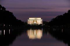 Monumento de Lincoln Imagen de archivo