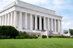 Monumento de Lincoln foto de archivo