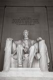 Monumento de Lincoln Fotos de archivo libres de regalías
