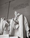 Monumento de Lincoln Imagen de archivo libre de regalías