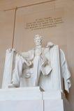 Monumento de Lincoln Fotografía de archivo