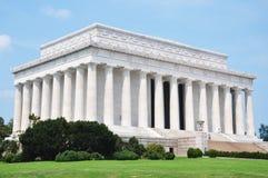 Monumento de Lincoln en Washington Imagen de archivo libre de regalías