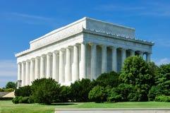 Monumento de Lincoln Memorial Fotos de archivo