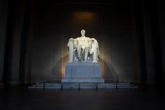 Monumento de Lincoln, Washington, C Fotografía de archivo