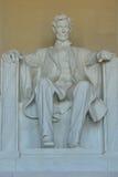 Monumento de Lincoln, Washington, C.C. Imagen de archivo