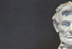 Monumento de Lincoln, Washington, C.C. Imagen de archivo libre de regalías