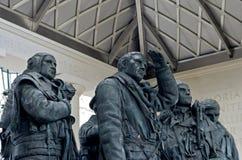 Monumento de Londres a los pilotos del bombardero Foto de archivo libre de regalías