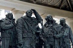 Monumento de Londres a los pilotos del bombardero Fotografía de archivo