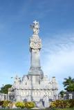 Monumento de los bomberos de Cemetry de los dos puntos Fotografía de archivo