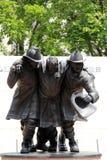 9-11 monumento de los bomberos del Estado de Nueva York, Albany, Nueva York, 2015 Imágenes de archivo libres de regalías