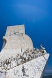 Monumento de los descubrimientos Foto de archivo libre de regalías