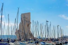 Monumento de los descubrimientos, Lisboa Fotografía de archivo libre de regalías
