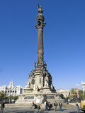 Monumento de los dos puntos Imagenes de archivo