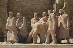 Monumento de los mártires Imagenes de archivo