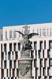 Monumento de los mártires en Zaragoza, España Fotos de archivo libres de regalías