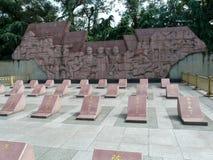 Monumento de los trabajadores del ferrocarril, Guilin Fotografía de archivo
