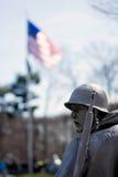 Monumento de los veteranos de Guerra de Corea, Washington DC fotografía de archivo libre de regalías