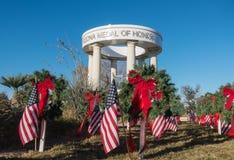 Monumento de los veteranos, medalla de honor de Arizona fotografía de archivo