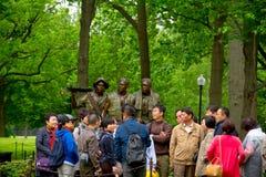 Monumento de los veteranos de Vietnam, en Washington DC, Foto de archivo