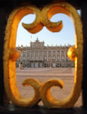 Monumento de Madrid Palacio de Oriente imagen de archivo libre de regalías