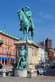 Monumento de Magnus Stenbock em Helsingborg, Sweden Imagem de Stock