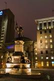 Monumento de Maisonneuve (Montreal) Fotos de Stock Royalty Free