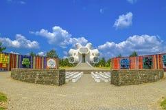Monumento de Makedonium - de Ilinden en Krusevo, Macedonia Imagen de archivo libre de regalías