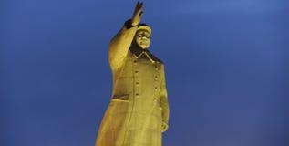 Monumento de Mao Zedong fotografía de archivo