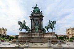 Monumento de Maria Theresia Imagen de archivo