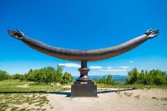 Monumento de Marquis de Sade Fotos de Stock Royalty Free