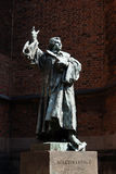 Monumento de Martin Luther Fotografía de archivo