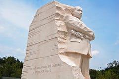 Monumento de Martin Luther King Foto de archivo libre de regalías
