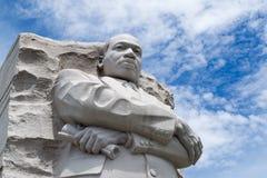 Monumento de Martin Luther King en DC Imagen de archivo libre de regalías