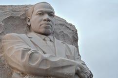 Monumento de Martin Luther King Jr. en Washington DC fotografía de archivo