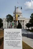 Monumento de marzo de los derechos al voto Fotos de archivo