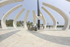 Monumento de MGR en Chennai Foto de archivo