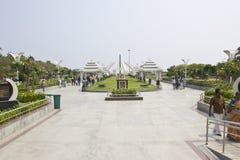 Monumento de MGR en Chennai Imagen de archivo