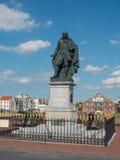 Monumento de Michiel de Ruyter em Vlissingen, Países Baixos Foto de Stock Royalty Free