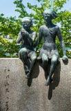 Monumento de Miekichi Suzuki Imagen de archivo