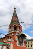 Monumento de Minin e de Pojarsky (foi erigido em 1818), quadrado vermelho em Moscou, Rússia Foto de Stock