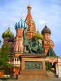 Monumento de Minin Pozharski imagem de stock royalty free