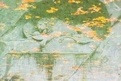 Monumento de muerte del león en Alfalfa Imagen de archivo
