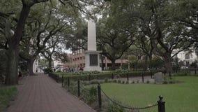 Monumento de Nathanael Greene/sabana/los E.E.U.U. almacen de video