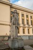 Monumento de Paderewski en Bydgoszcz, Polonia Foto de archivo libre de regalías
