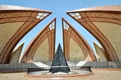 Monumento de Paquistán Imagen de archivo