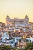 Monumento de Patria del della de Altare en Roma Imagen de archivo libre de regalías
