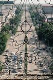 Monumento de Patuxai Foto de archivo