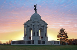 Monumento de Pennsylvania Foto de archivo